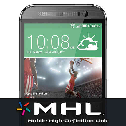 MHL Cable - Micro USB to HDMI TV Adapter for HTC One M8