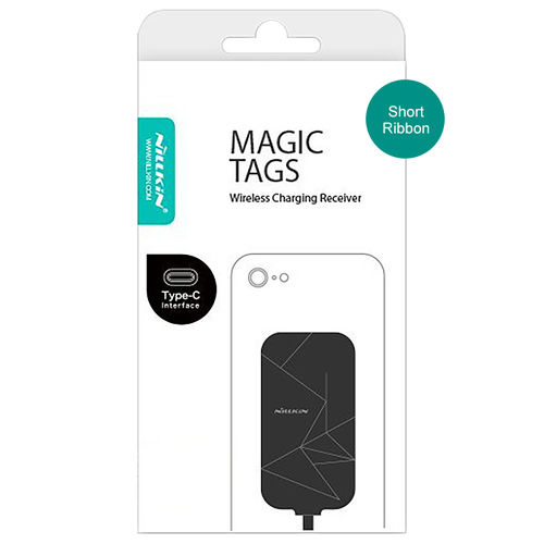 Nillkin Magic Tag Type-C Qi Wireless Charging Receiver Card - Short