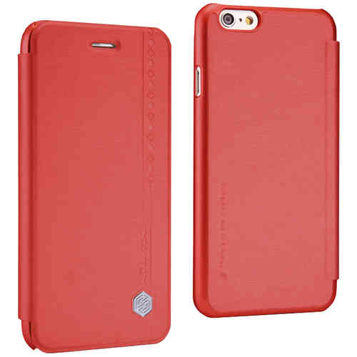 Nillkin Rain Leather Wallet Case for Apple iPhone 6 / 6s - Red