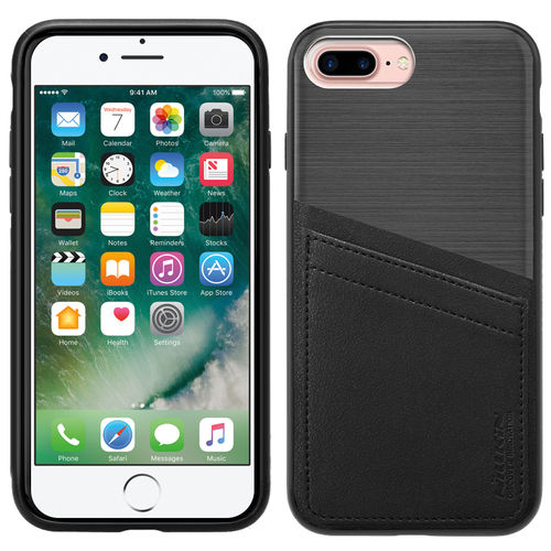 Nillkin Classy Card Holder Leather Case for Apple iPhone 8 Plus / 7 Plus - Black