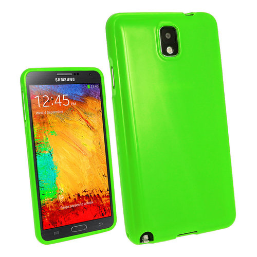 Starburst Candy Case for Samsung Galaxy Note 3 - Green (Gloss)