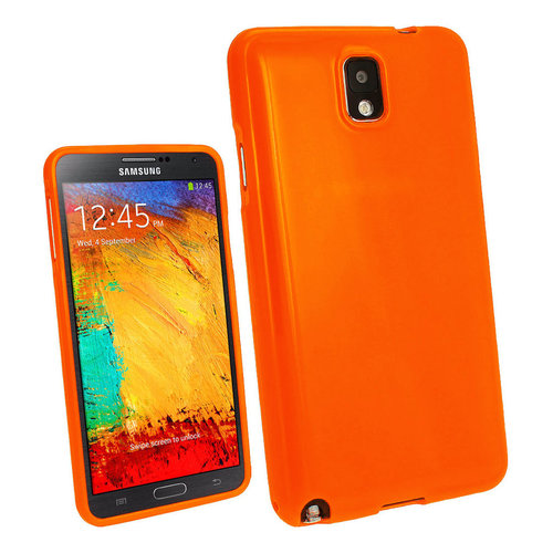 Starburst Candy Case for Samsung Galaxy Note 3 - Orange (Gloss)
