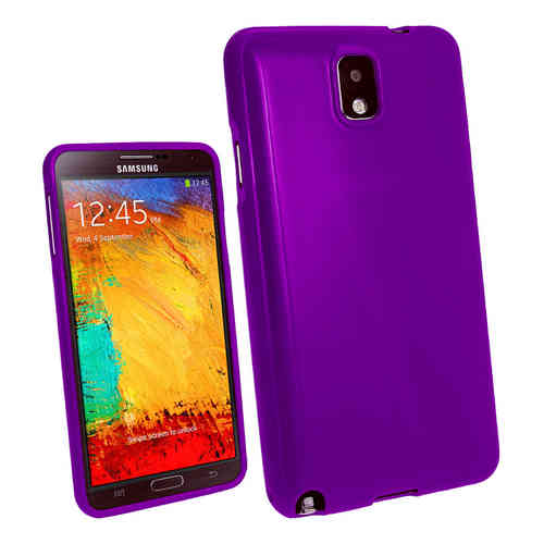 Starburst Candy Case for Samsung Galaxy Note 3 - Purple (Gloss)