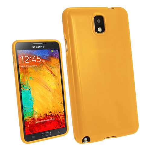 Starburst Candy Case for Samsung Galaxy Note 3 - Yellow (Gloss)
