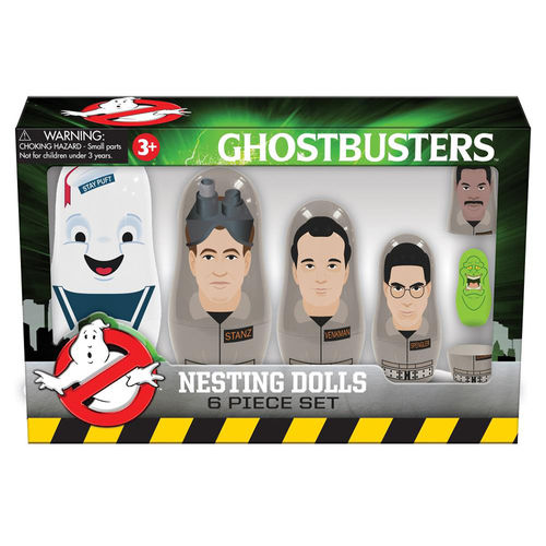 PPW Toys Classic Ghostbusters Nesting Dolls Set (6-piece)