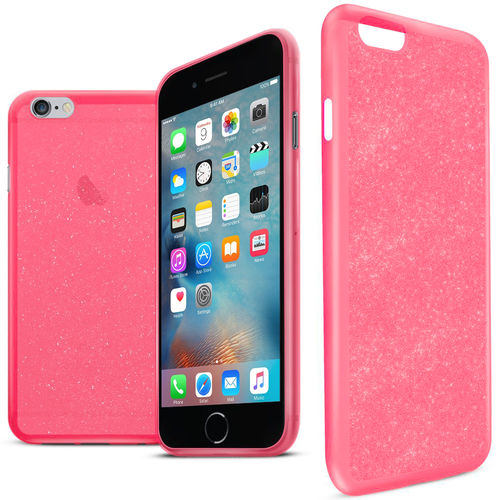 Orzly Stardust Glitter Case for Apple iPhone 6 Plus / 6s Plus - Pink