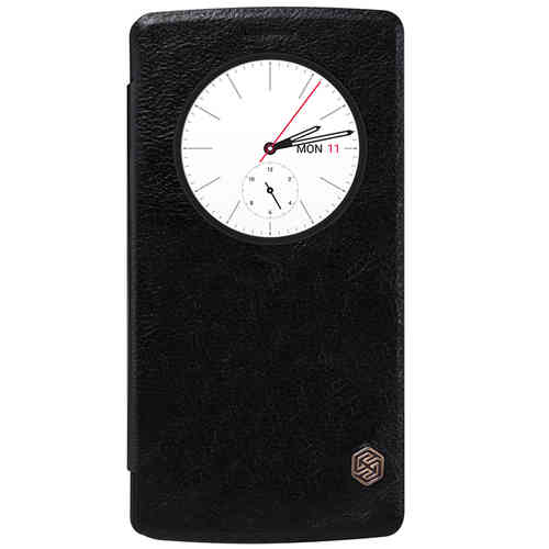 Nillkin Qin Quick Circle Leather Case for LG G4 - Black