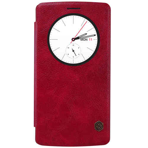 Nillkin Qin Quick Circle Leather Case for LG G4 - Red