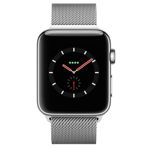 Silver Milanese Loop Stainless Steel Band for Apple Watch 38 / 40mm