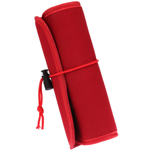 Nylon Cable Management Organiser / Storage Travel Bag - Red