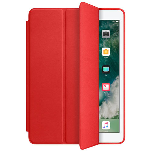 Trifold Sleep/Wake Smart Case for Apple iPad Air 2 - Red