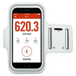 Sports Plus Jogging & Exercise Armband Case for Mobile Phone - White