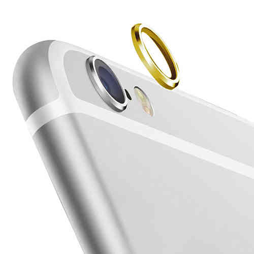 2x Camera Lens Protective Ring Cover for Apple iPhone 6s Plus - Gold