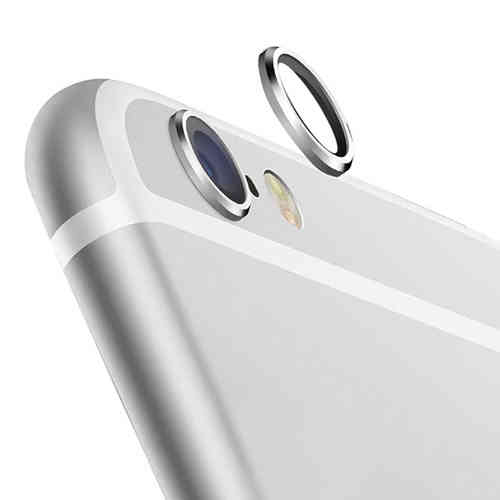 2x Camera Lens Protective Ring Cover for Apple iPhone 6s Plus - Silver