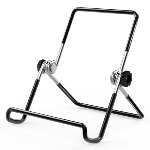 Multi-Angle Adjustable Metal Frame Desk Stand Tablet Holder for iPad