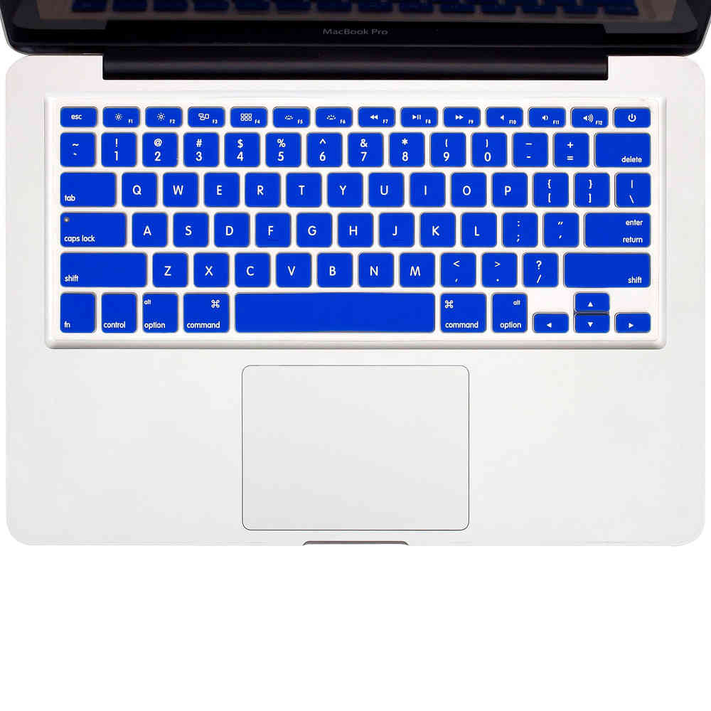 Laptop Keyboard Cover for MacBook Air 13 Pro 15 Inch A1466 A1502 A1278 A1398 Us Silicon Keyboard Cover Color Protective Film-Clear