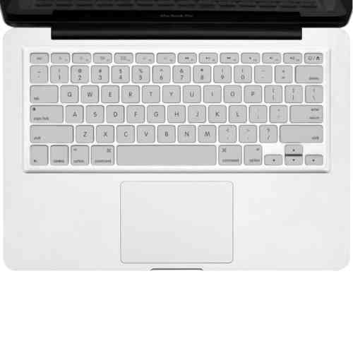 "Keyboard Cover Protector for 15"" & 13-inch MacBook Pro / Air - Silver"