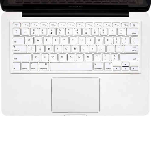 "Keyboard Cover Protector for 15"" & 13-inch MacBook Pro / Air - White"