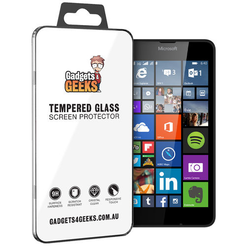9H Tempered Glass Screen Protector for Microsoft Lumia 640