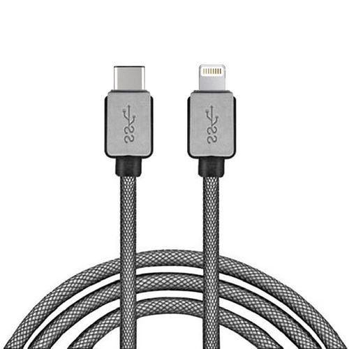USB 3.1 Type-C to Lightning Charging Cable (1m) for iPhone / iPad