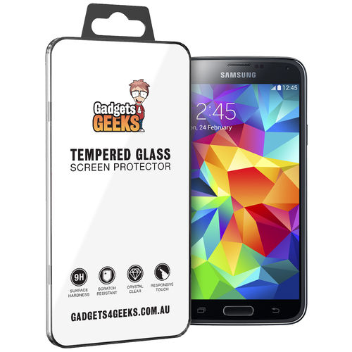 9H Tempered Glass Screen Protector for Samsung Galaxy S5