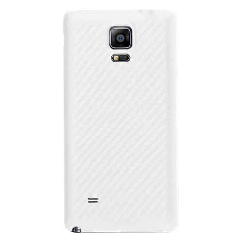 Replacement Back Cover for Samsung Galaxy Note 4 - Carbon Fibre White