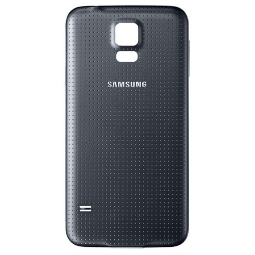 Replacement Water-Resistant Back Cover for Samsung Galaxy S5 - Black