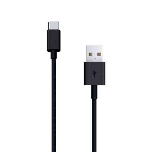 1m USB-C 3.1 (Type-C) to USB 2.0 Data Charging Cable - Black