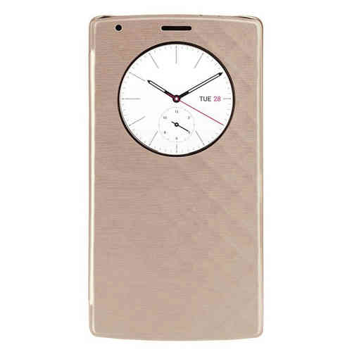 Qi Wireless Charging QuickCircle Case (with NFC) for LG G4 - Gold