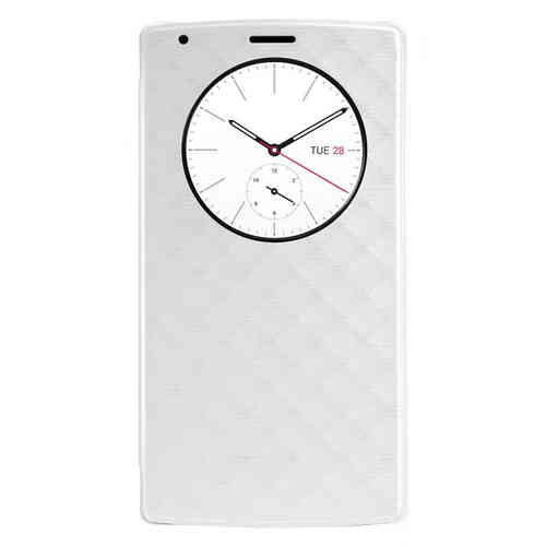 Qi Wireless Charging QuickCircle Case (with NFC) for LG G4 - White