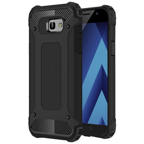 Military Defender Tough Shockproof Case for Samsung Galaxy A5 (2017) - Black