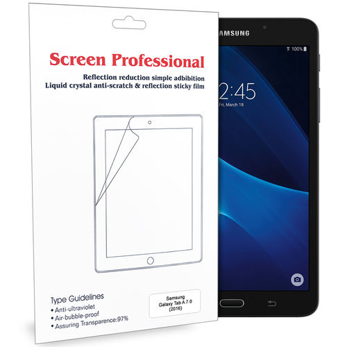 (2-Pack) Clear Film Screen Protector for Samsung Galaxy Tab A 7.0 (2016)