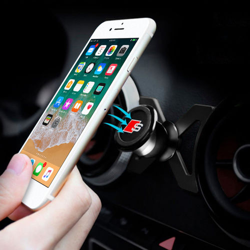 360 Rotary Magnetic Air Vent Car Mount / Phone Holder for Audi A3 / S3