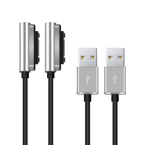 (2-Pack) Sony Magnetic USB Charging Cable (1m) for Xperia Phone / Tablet
