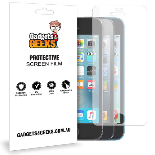 (2-Pack) Clear Film Screen Protector for Apple iPhone 5 / 5s / 5c / SE (1st Gen)