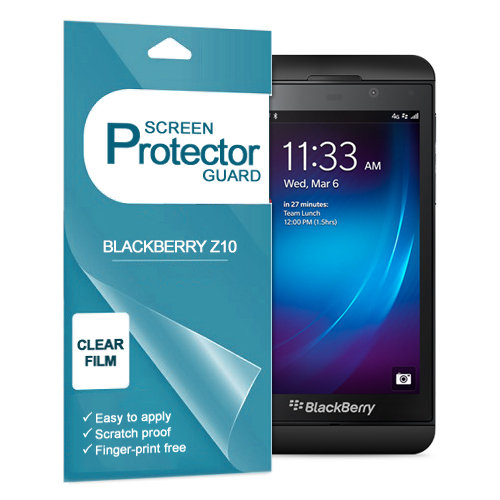 (2-Pack) Clear Film Screen Protector for BlackBerry Z10