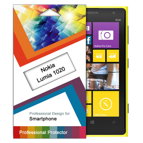 (5-Pack) Clear Film Screen Protector for Nokia Lumia 1020