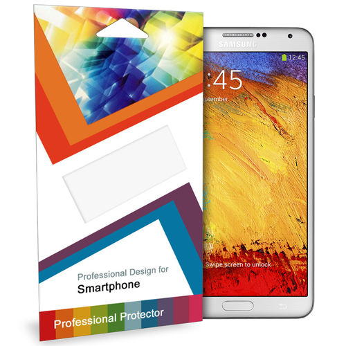 (5-Pack) Clear Film Screen Protector for Samsung Galaxy Note 3