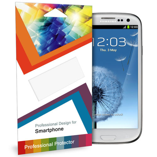 (2-Pack) Clear Film Screen Protector for Samsung Galaxy S3