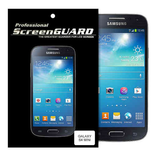 (2-Pack) Clear Film Screen Protector for Samsung Galaxy S4 Mini