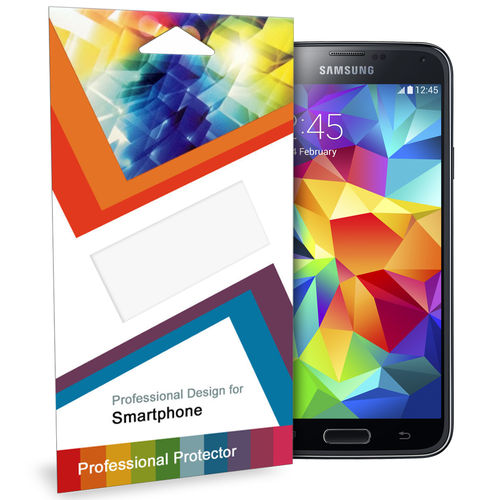 (5-Pack) Clear Film Screen Protector for Samsung Galaxy S5