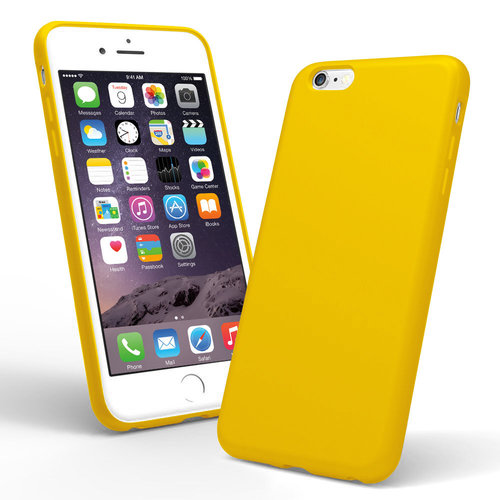 Spectrum Silicone Case - Apple iPhone 6 Plus / 6s Plus - Munsell Yellow
