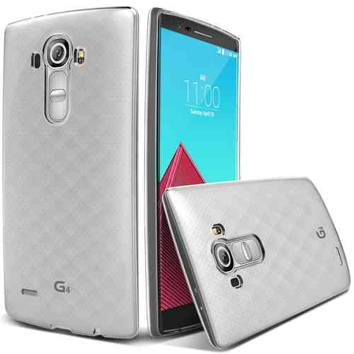 Flexi Slim Gel Case for LG G4 - Clear (Gloss Grip)
