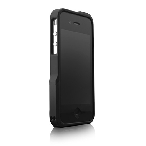 Vapor Pro Metal Frame Bumper Case for Apple iPhone 4 / 4s - Black
