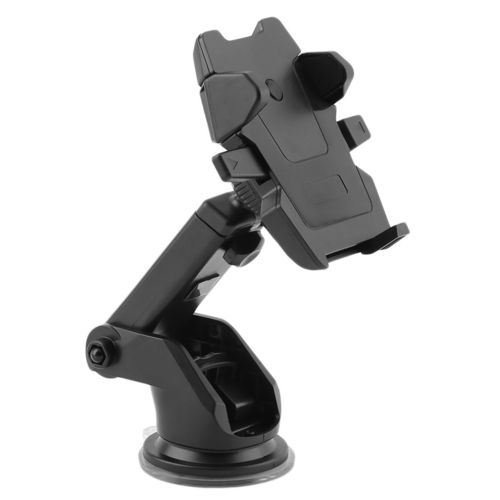 One-Touch Extendable Long Neck Suction Cup Car Mount Phone Holder